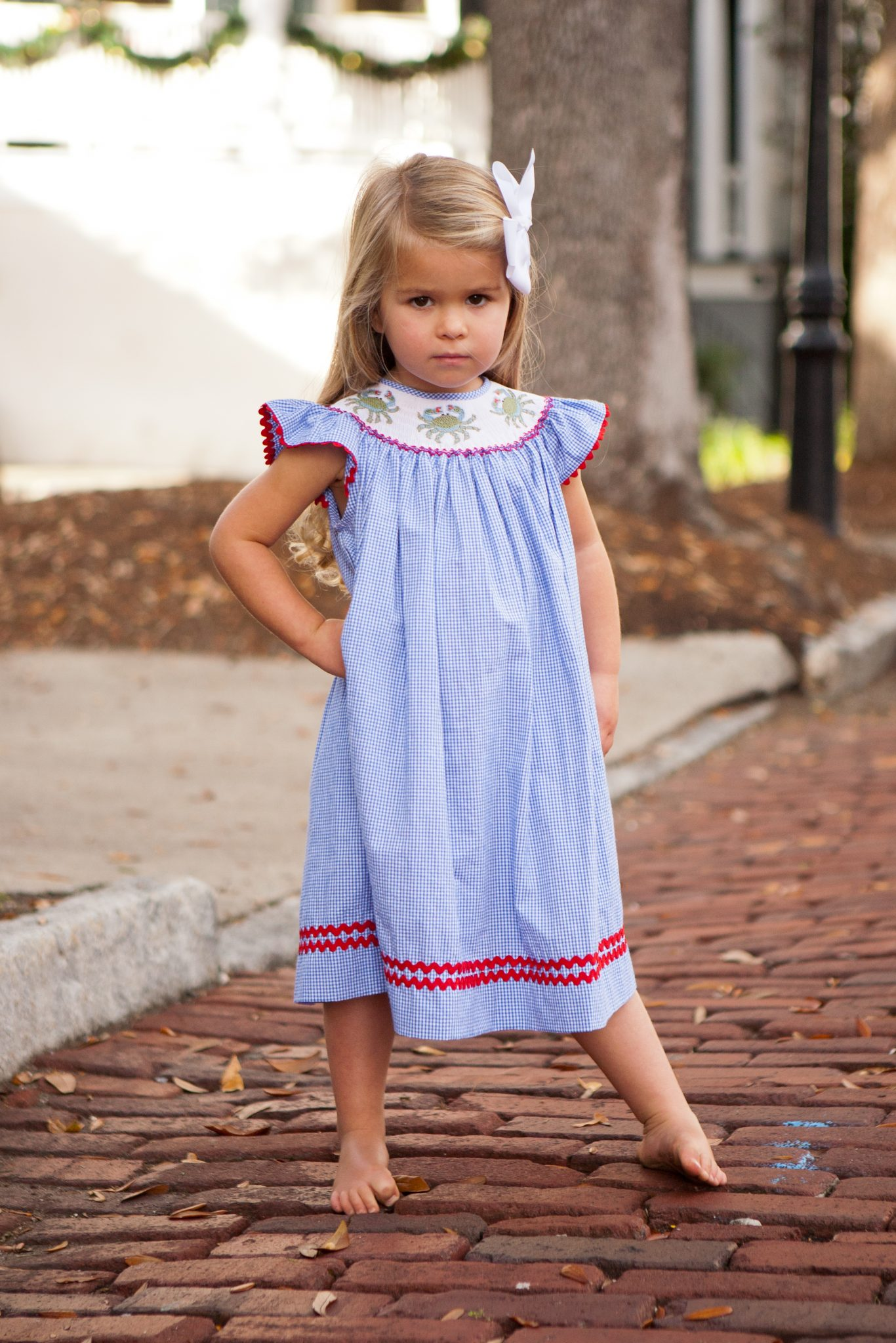 Charleston Blue Crab Bishop Gown