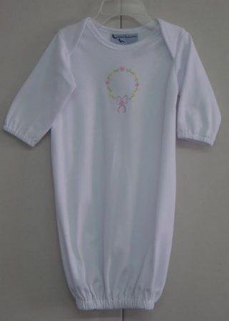Floral Newborn Gown