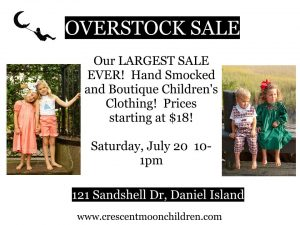 Smocked Overstock Sale