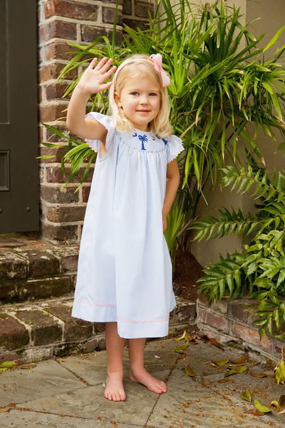 Palmetto Moon Dress, Smaller