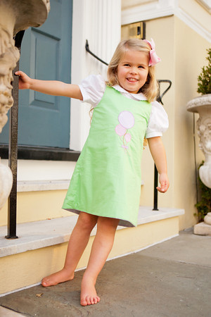 Reversible Bunny, Birthday A-Line Dress