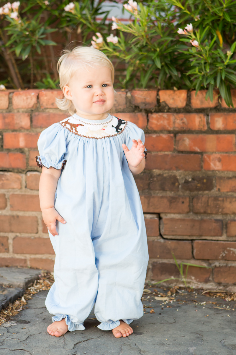 Lowcountry Lab Girls Bubble Childrens Clothing Smocked