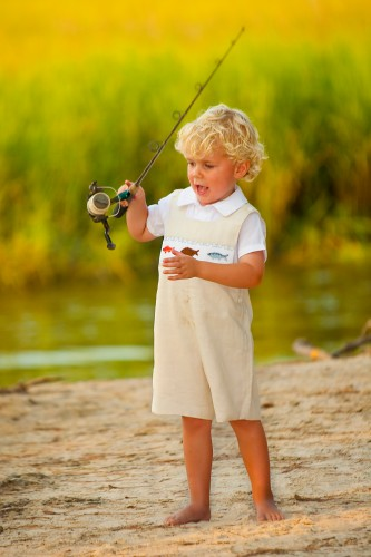 Red fish flounder and trout jon jon childrens clothing for Fishing shirt of the month