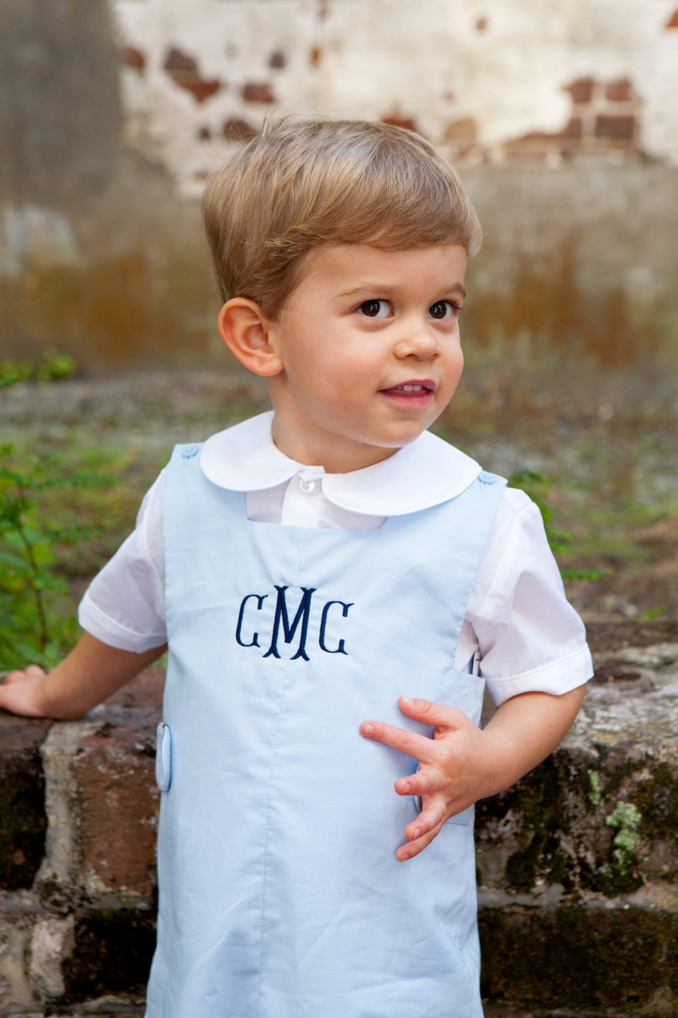 a monogrammed dress and jon jon for you