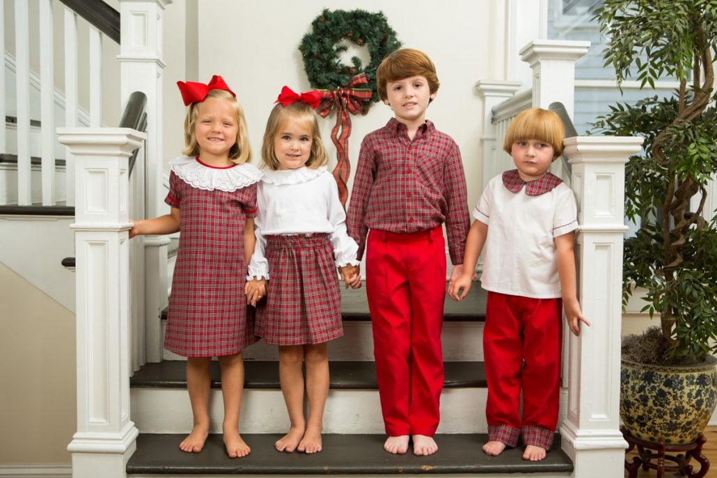 Christmas Outfits for Holiday Cards - Christmas Outfits For Holiday Cards - Childrens Clothing Smocked