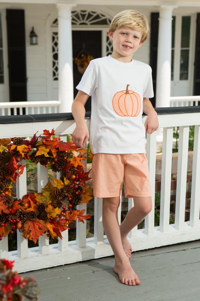 pumpkin patch boys set childrens clothing smocked
