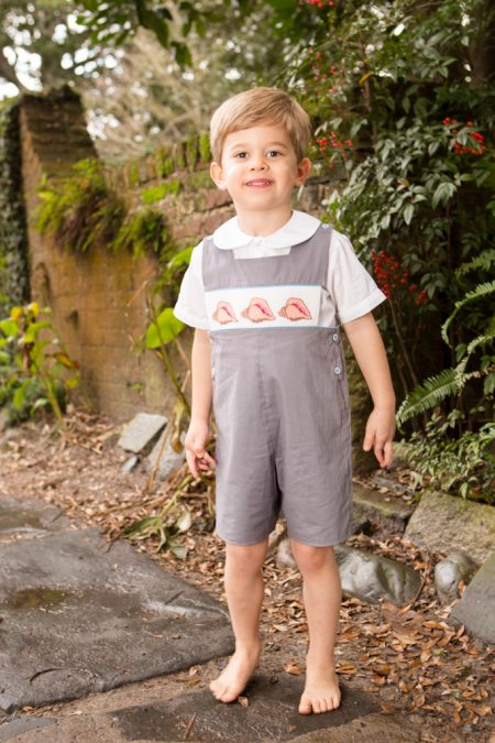 Conch Jon Jon Childrens Clothing Smocked Heirloom Bishop