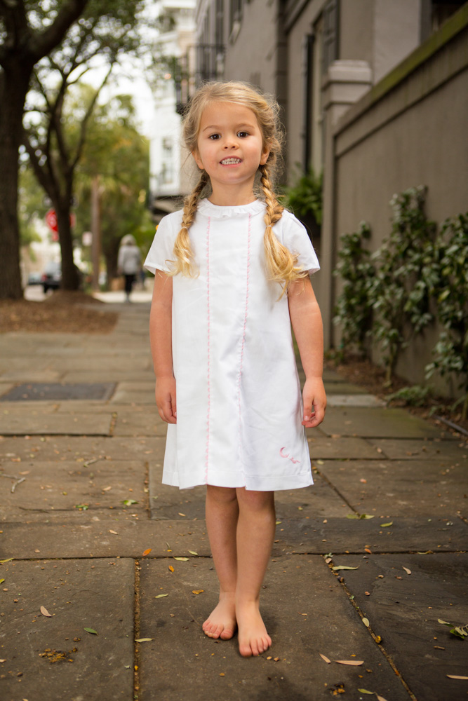 The Evelyn Shift Childrens Clothing Smocked Heirloom