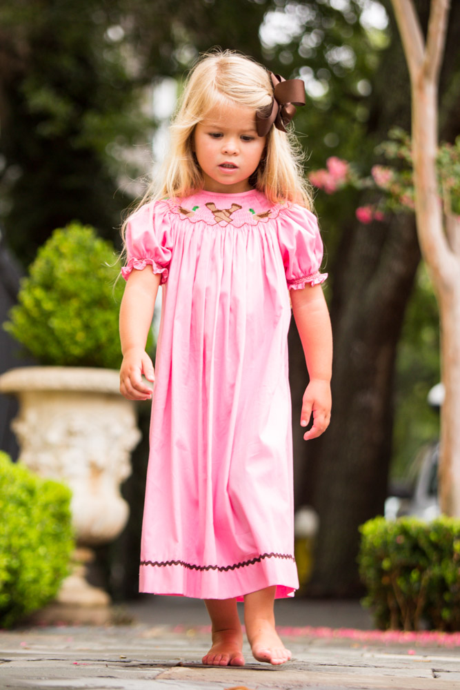 Duck Call Bishop Gown Childrens Clothing Smocked