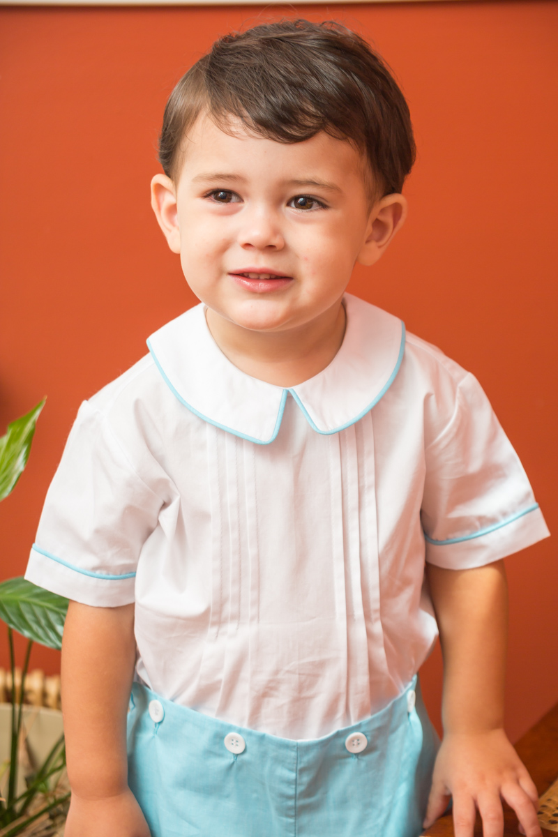 Little Boy Blue Suit Childrens Clothing Smocked Heirloom