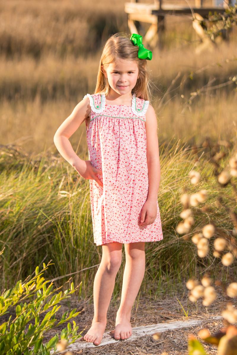 Suzie Summer Dress Childrens Clothing Smocked Heirloom
