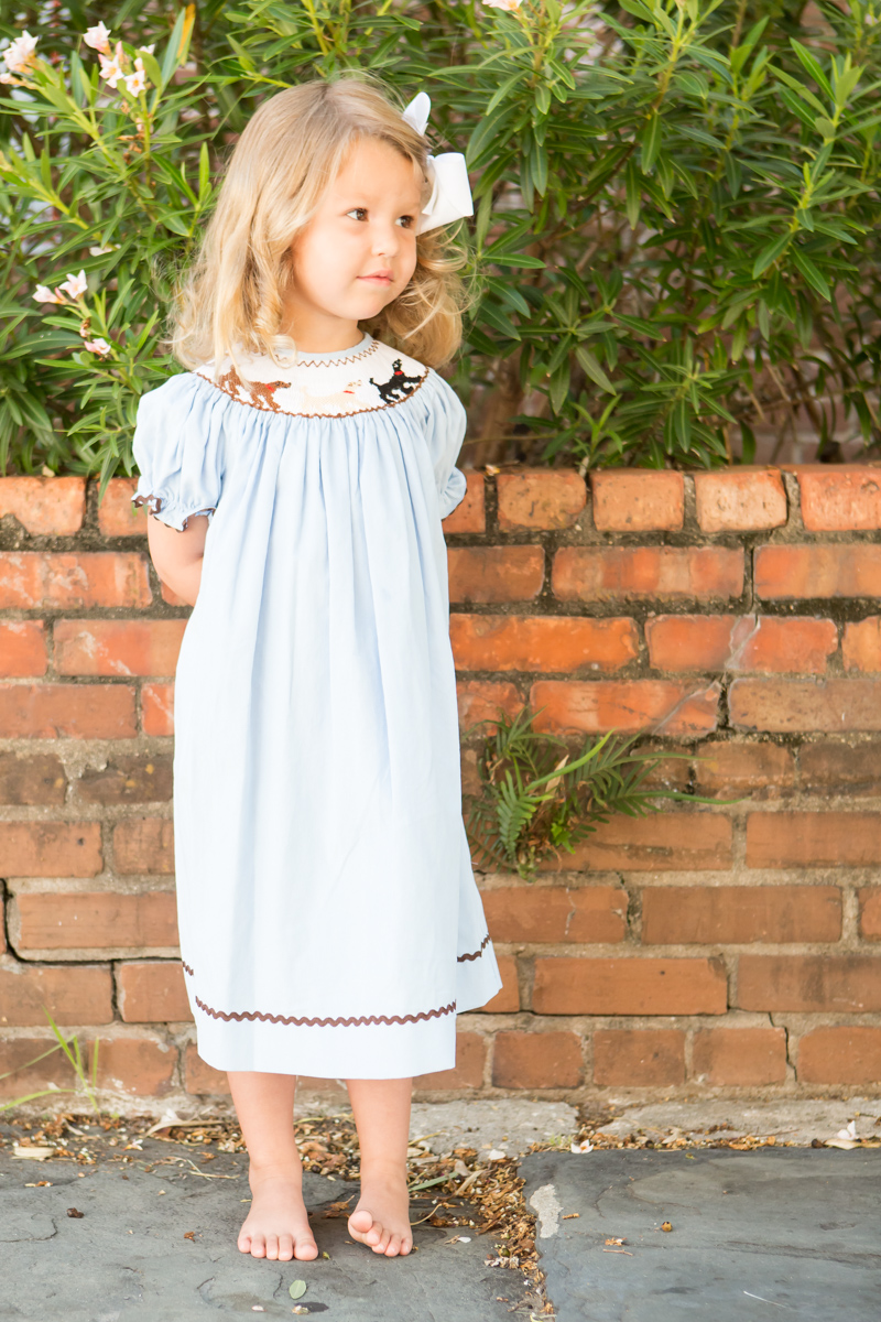 Lowcountry Lab Bishop Gown Childrens Clothing Smocked