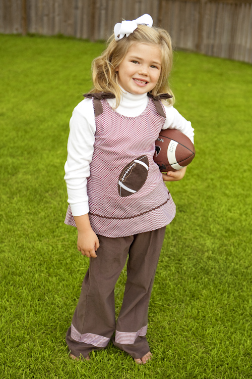 Girls A Line Football Outfit Maroon Childrens Clothing